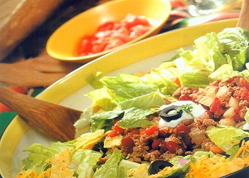 Pronto Chili Taco Salad Recipe