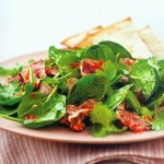 chili beef salad with cilantro